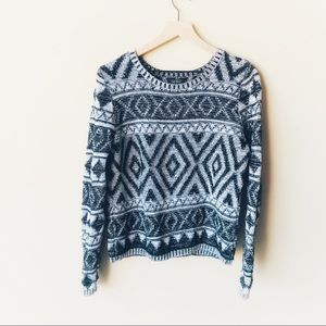 Lucky Brand chunky sweater
